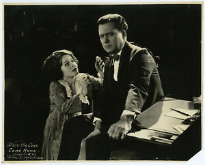 Norma Shearer Silent Film Man and Wife Original 1923 Production Still Photograph