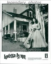 Loretta Lynn Interscope Records Original Press Photo