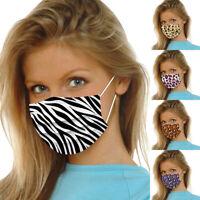 Weihnachten Mund-Nasen-Maske waschbar Stoffmaske wiederverwendbar Schwarz·HOT*