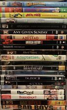 Lot of 100+ Dvd Movies - Almost All are Collector Editions - Buy More and Save!