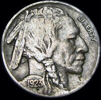 1923-S Buffalo Nickel US Coin ----  NICE ----  #X709