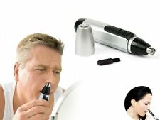 Electric Nose Face Hair Removal Trimmer Shaver Clipper Cleaner Remover Tool LN