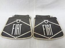 Paraspruzzi parafanghi fender splash guard FIAT 600 750 neri black