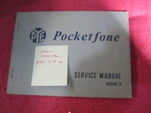 Pye PF1 Manual  UHF FM Pocketfone (Reference 58/07/2021)