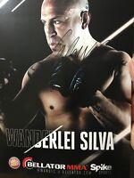 WANDERLEI SILVA SIGNED 8X10 AUTOGRAPHED PROMO PHOTO BELLATOR MMA UFC