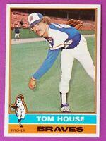 1976 Topps Baseball Braves Tom House Card # 231