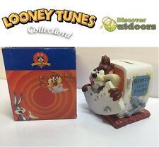 NEW Looney Tunes COLLECTIBLE Taz MONEY Box ORNAMENT Figurine 4 Kids BEDROOM