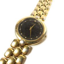 "Vintage SEIKO Quartz Gold Toned Round Face Wristwatch Watch 8"""