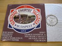LP Nemzetközi Country ELÖ Budapest Live Vinyl Start Ungarn SLPM 17745