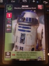 Young Jedi TCG Battle Naboo Enhanced R2-D2, Starship Maintenance Droid NrMt-Mint