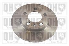 2x Brake Discs (Pair) Solid 232mm BDC4753 Quinton Hazell Set 1J0615601 BDC4753P