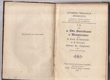 synopsis theologiae dogmaticae. ad.tanquerey - de deo santificante e remunerator