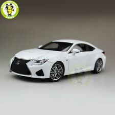 1/18 Toyota Lexus RCF RC F Diecast Model Racing Car Boy Girl Gift White Color