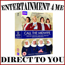 CALL THE MIDWIFE - COMPLETE SEASONS 1 2 3 & 4 PLUS XMAS SPECIALS*BRAND NEW DVD *