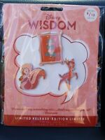 Disney Store Wisdom Series Collection Pin Set August Bambi 8/12 Limited Release