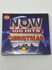 NOW 100 HITS - CHRISTMAS - CD ALBUM - 2019 - 5 CD BOX SET - NEW & SEALED
