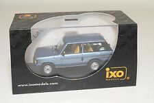 . IXO CLC038 RANGE ROVER VOGUE 1980 METALLIC BLUE MINT BOXED RARE SELTEN RARO