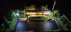 Oo gauge model railway diorama