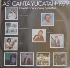 MEXICAN REGIONAL FOLK MUSIC ASI CANTA YUCATAN-1979 MEXICAN LP STILL SEALED