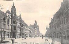 RIO DE JANEIRO BRAZIL~AVENIDA CENTRAL~A RIBEIRO #292 POSTCARD 1910s