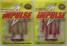 2 - Northland Tackle  IMPULSE® BRO'S BLOODWORM - Blood Red & Natural