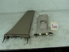 99-2001 AUDI A6 RIGHT PASSENGER SIDE SEAT BELT CENTER PILLAR TRIM COVER GARNISH