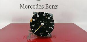 Mercedes Benz C123 S123 W123 Instrument Cluster Speed Gauge 180 km/h 130625km