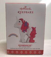 2017 Hallmark Keepsake My Little Pony Moondancer Ornament , NEW