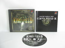 KING'S FIELD III 3 PS1 Playstation Japan Video Game p1