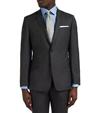 NEW RICHARD JAMES MAYFAIR PIC N PIC WOOL TAILORED FIT SUIT JACKET 44 R CHARCOAL