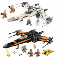 Star fighter Building Blocks Model First Order Poe's X Wing Fighter Wars Toys