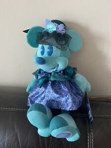 Minnie Mouse Main Attraction October Haunted Mansion Plush NWT MMMA