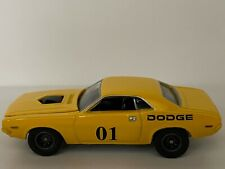 Johnny Lightning Weekend Racers 1970 Dodge Challenger - Yellow *LOOSE*