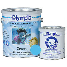 Olympic Zeron Epoxy Coating Bikini Blue - 1 Gallon