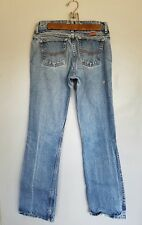 Vintage Unisex Wranglers Flame Resistant Workers Blue Jeans Straight Leg