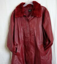 Brisa Collection Leather Jacket (Size 3X)