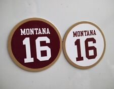 Joe Montana | San Francisco 49ers Magnets #16 Jersey | 49ers magnets 2.75 inches