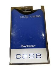 Brookstone Blue PDA DELUXE CASE BLACKBERRY  Protective HOLDER Attachment Loop
