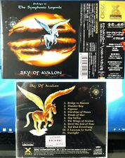 Sky Of Avalon - Prologue To The Symphonic Legends (CD,1996,Toshiba,Japan w/OBI)