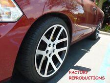 "(4) 20"" Dodge Ram SRT10 Style Fits for 2002 - 2018 Wheels Rims Machined Black"