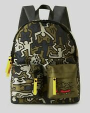 Rare NEW Benetton x Keith Haring Very High Quality Small Back pack Bag Rucksack