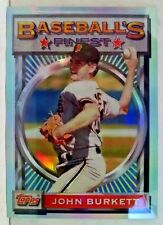 1993 Finest Refractors #44 John Burkett Team: San Francisco Giants print run 241