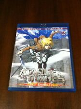 ATAQUE A LOS TITANES VOL 2 - CAPS 5 A 8 - EDICION COMBO BLURAY + DVD - 100 MIN