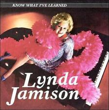 Know What I've Learned by Lynda Jamison (CD, Jun-1997, Touchwood Distribution)