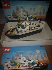 Lego 4021 Polizeischiff  mit OVP und Anleitung