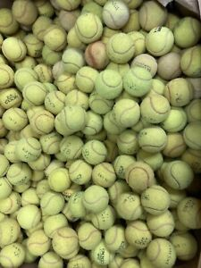30 Used Tennis Balls -Incredible Value😀👍🏻branded Balls Fast Despatch FREEPOST