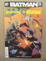Batman Prelude to the Wedding Part 2 Nightwing vs Hush #1 DC 2018 One Shot 9.6