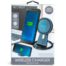 NEW Adjustable Wireless Charging Charger W/ Built In Stand MICRO CABLE INCLUDED