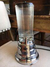 Vintage Waring 2 Speed Blender Glass Cloverleaf Beehive Tested/Works!