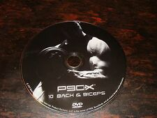 P90X DVD Disc 10   Back & Biceps